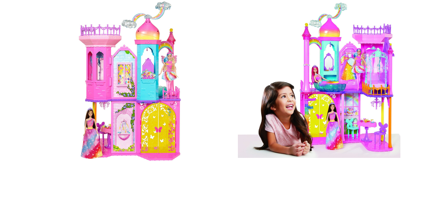 Barbie Rainbow Cove Castle Playset