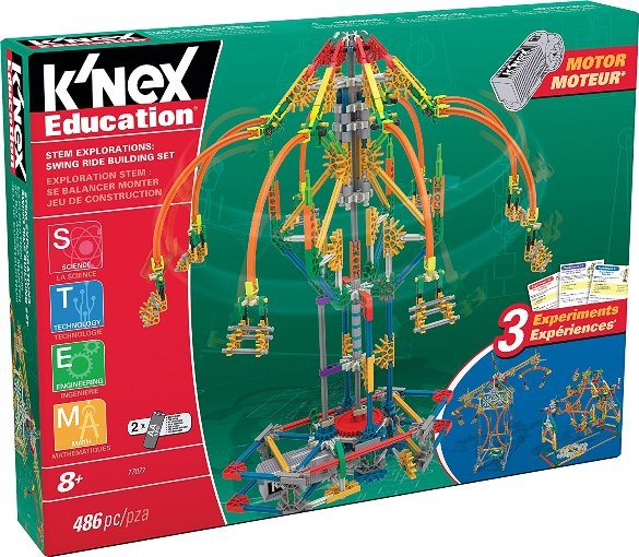 K'NEX Education: STEM Explorations Swing Ride Building Set