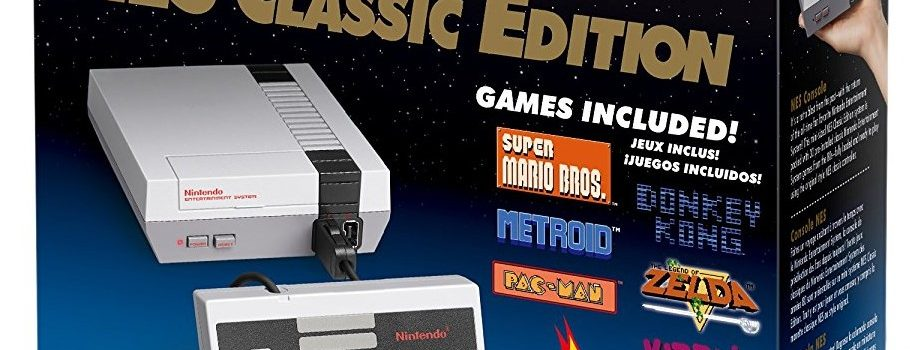 Hurry! Nintendo Relaunches NES Classic Edition